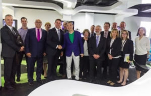QUEENSLAND HEALTH MINISTER, MR CAMERON DICK'S VISIT TO THE BORDERLESS INNOVATION HUB