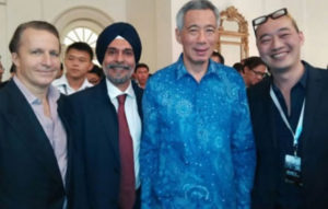 SMART NATION DINNER WITH THE PRIME MINISTER OF SINGAPORE, MR LEE HSIEN LOONG