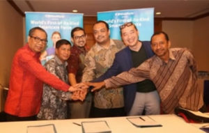 MOU SIGNING CEREMONY WITH THE INDONESIAN MINISTRY OF MANPOWER.