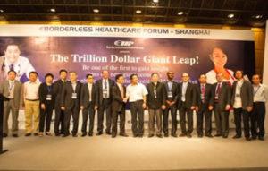 BORDERLESS HEALTHCARE FORUM SHANGHAI WITH THE SHANGHAI HEALTH MINISTRY